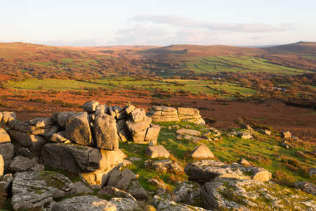 pew: Pew Tor Dartmoor Devon Uk Stock Photo
