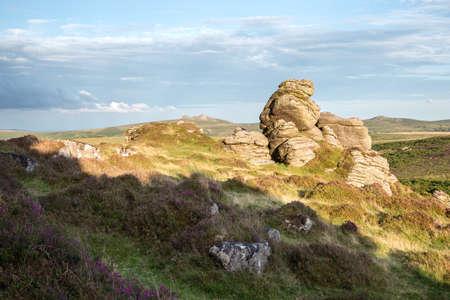 Honeybag tor Dartmoor Devon uk Stock Photo