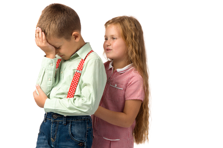 offense: conflicts between children. quarrels and offense