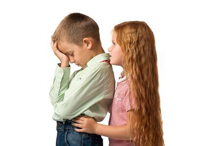 delito: conflictos entre los niños. peleas y delito