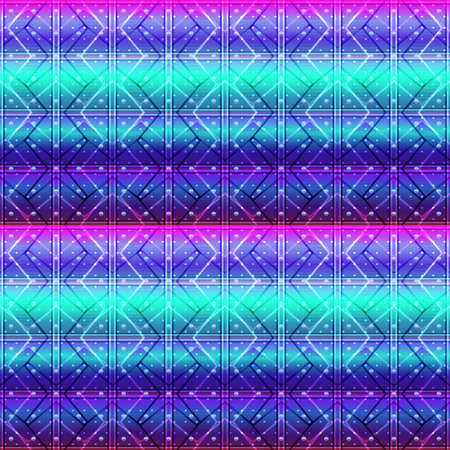 Geometric grid background Modern colorful abstract multicolored texture Seamless pattern