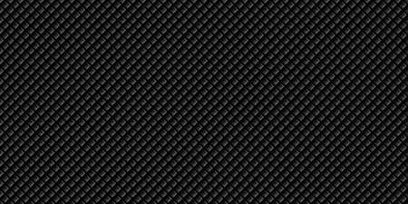 Dark black Geometric grid Carbon fiber background Modern dark abstract seamless texture