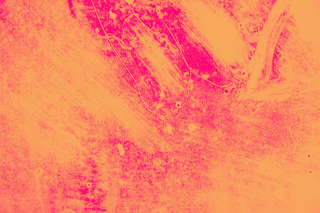 orange and pink paint background texture with grunge brush strokes Stock Photo