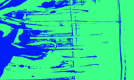 blue and green paint background texture with grunge brush strokes Reklamní fotografie