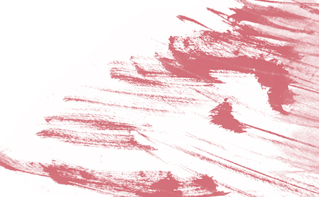 pink coral and white paint background texture with grunge brush strokes