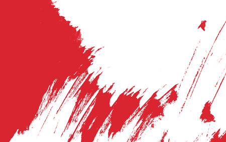 white red and blue paint background texture with grunge brush strokes