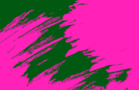 green pink   paint background texture with grunge brush strokes