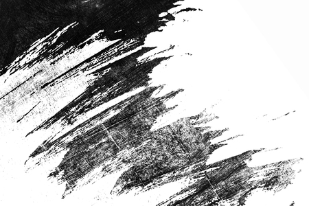 white black paint background texture with grunge brush strokes Reklamní fotografie