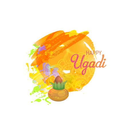 blessings: Happy Ugadi Card