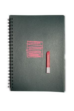 sketchbook: Sketchbook with black pages