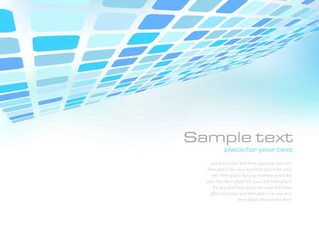 Blue background for web or print Illustration
