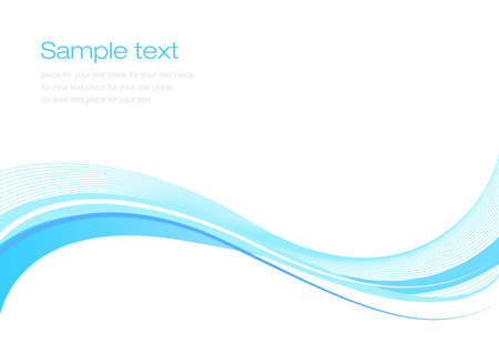 Blue abstract background for web or print