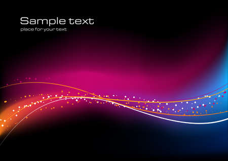Abstract background with glittering lines