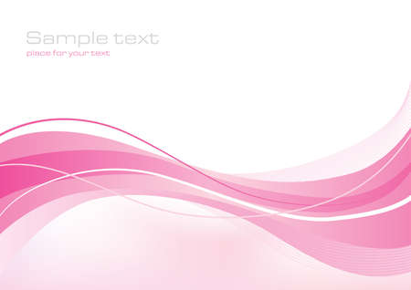 pink swirl: Abstract background for web or print