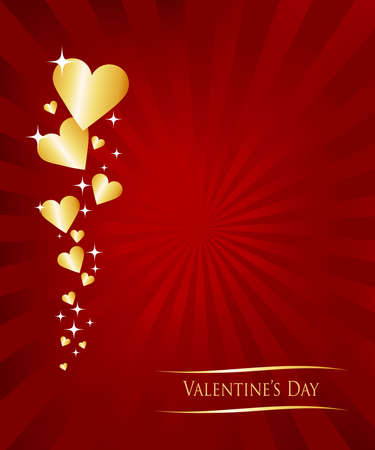 affair: Valentine greetings card