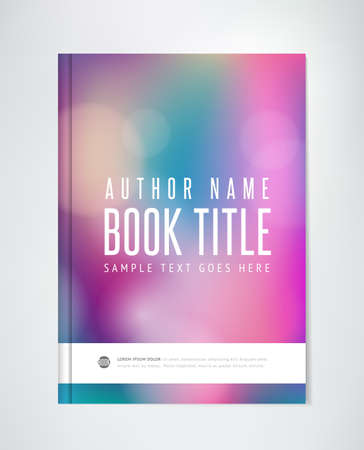 Abstract Brochure Template - Flyer, Report or Book Design