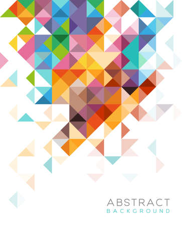 Abstract ontwerp voor web of print Stock Illustratie