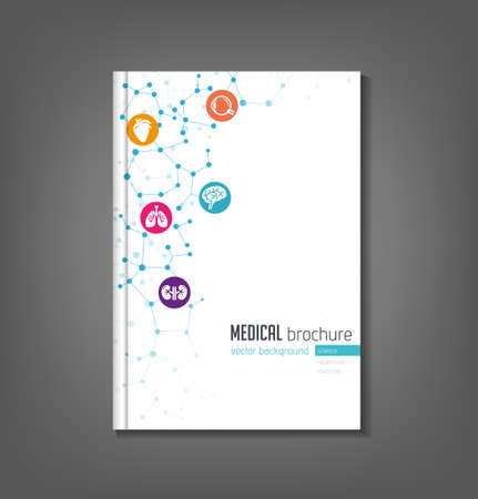 Brochure Template  Medical Topics Healthcare Science Technology