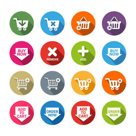 shopping icons: Collection of shopping icons