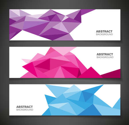 Abstract geometric background - colorful with geometric shapes.