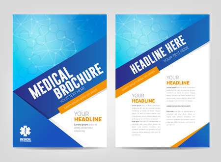 Medical Brochure Template Royalty Free Cliparts Vectors And Stock