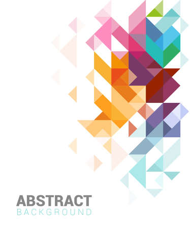 Abstract design for web or print, brochure template Illustration