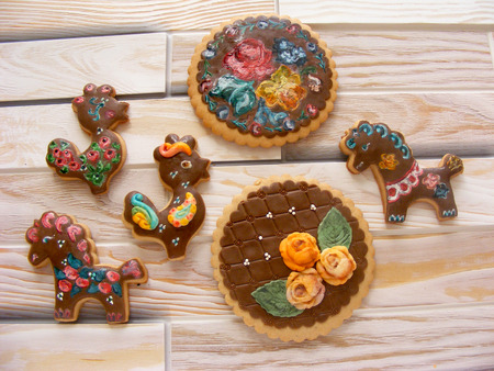 desing: russian traditional space cakes