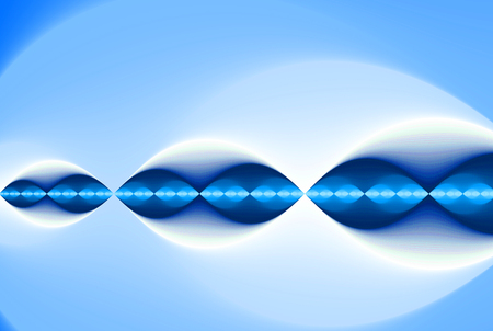 blue light background. (speed, light, laser) Stock Photo