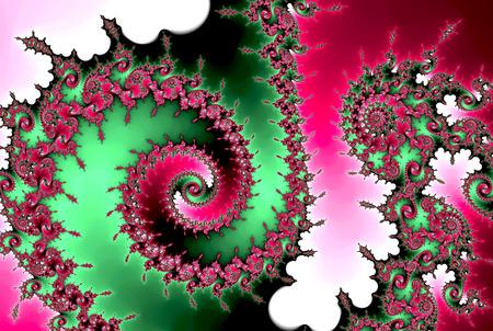 Colorful Fractal Wave