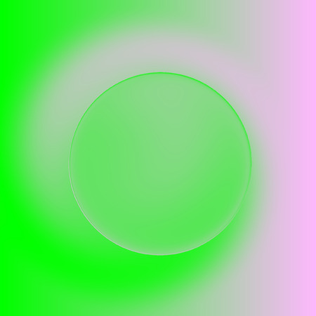 green, pink spiral background, picture of spring with copyspace