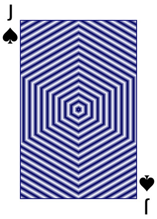 Poker playing card background blue or violet color, effect vibrant and pseudo drive Banco de Imagens