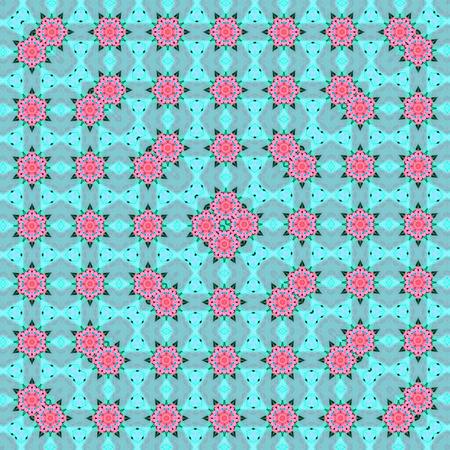 pattern Flower Kaleidoscope Pattern
