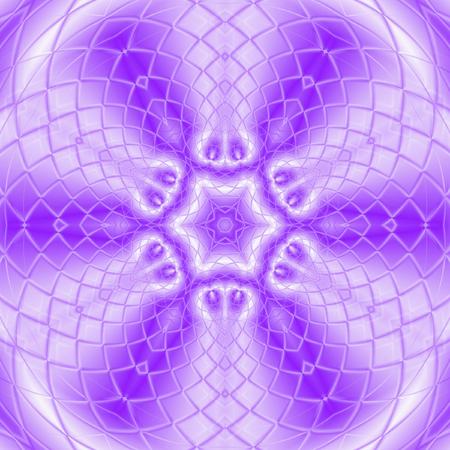 kaleidoscope meditation ultra violet star tile mandala
