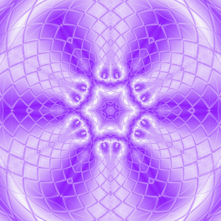 kaleidoscope meditation ultra violet star tile mandala