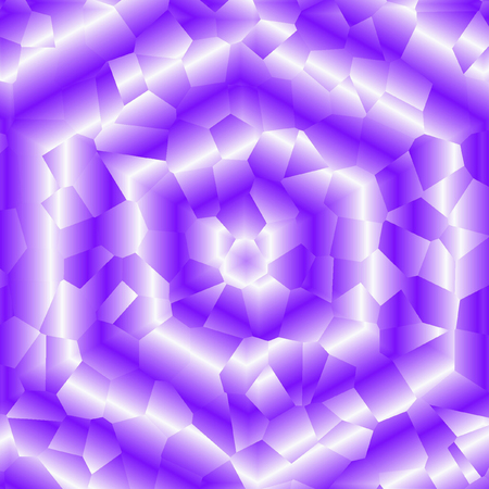 Abstract ultra violet swirl gradient hexagonal Background, banner with splinter effect