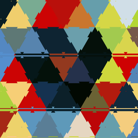 colorful triangle background in shining colors Banco de Imagens