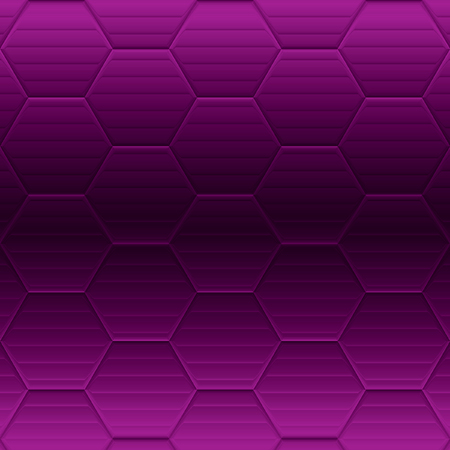 purple and violet background with hexagonal weave for card or banner Imagens - 98975473