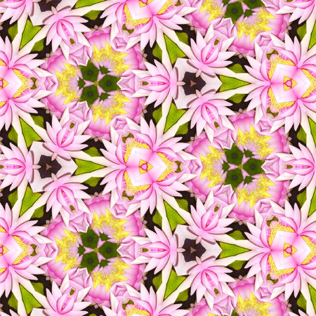 abstract floral pattern with lily of the valley flowers