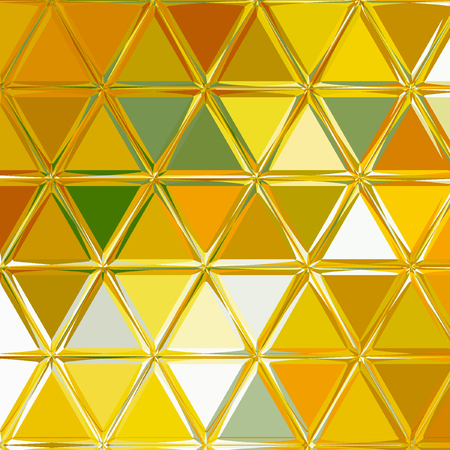 triangle polygonal texture background for card, wallpaper and fabric background of spring sunny colors