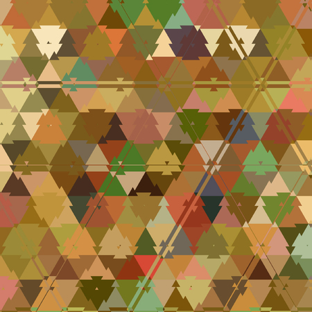 rainbow polygonal continuous background