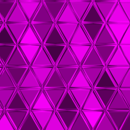 triangle polygonal purple geometrical gradient background for wallpaper or textile effect patchwork Imagens