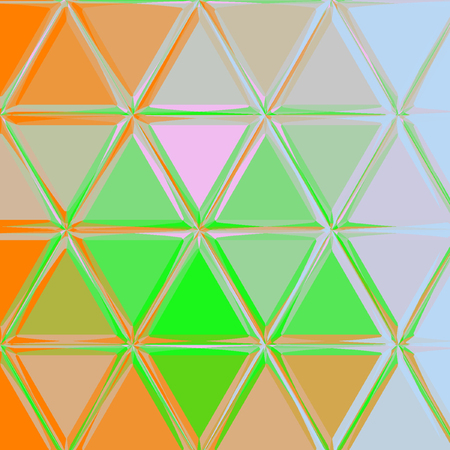 Abstract Geometrical triangle continuous Background for banner, wallpaper, fabric, textile Stock Photo