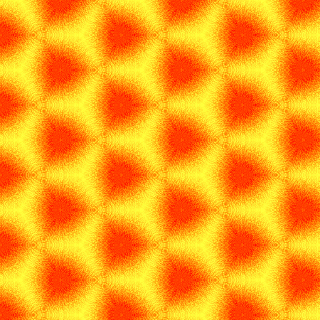 Bright orange continuous pattern with blus effect