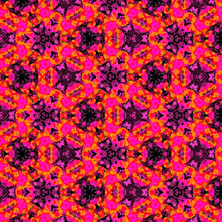 Bright colorful continuous pattern in red and violet