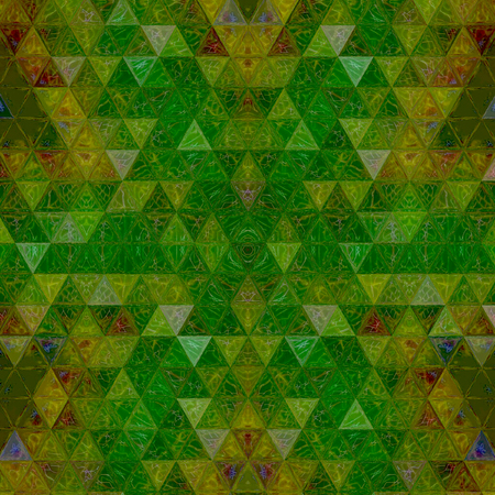 triangle continuous pattern in going green Banco de Imagens