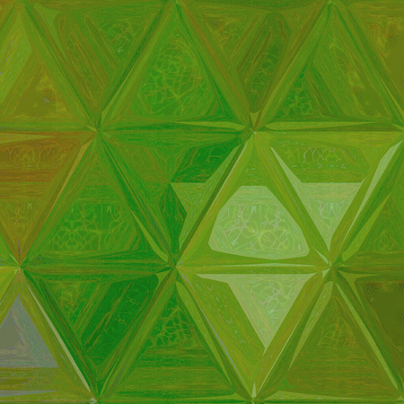 summer grass background in going green triangles pattern Stock Photo