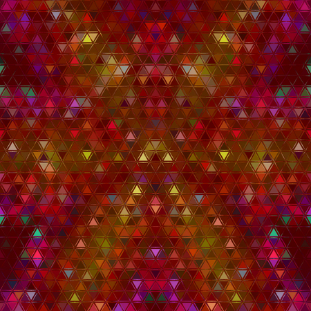 red and yellow polygonal abstract mosaic background