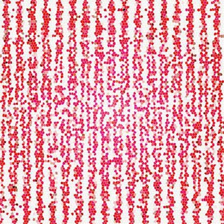 Matrix Japanese Futuristic red Techno Digital Oriental mosaic Ornamental Pattern Texture