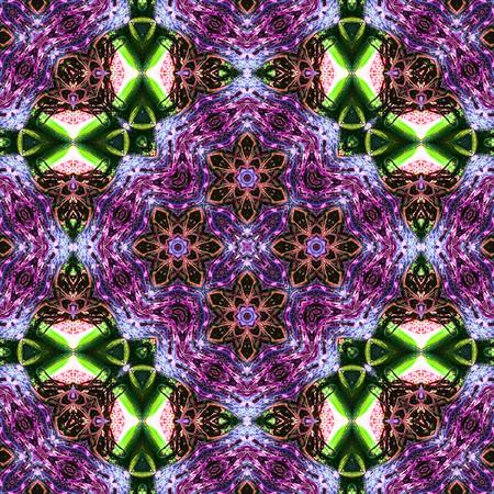 Ethnic texture carpet design. Colorful ornamental pattern