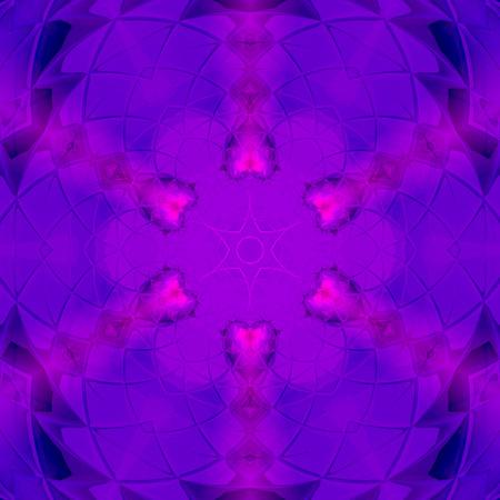 Global Love Mandala in ultra violet Imagens